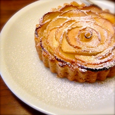 Apfel-Quark-Tartelette
