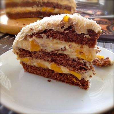 Mango-Mascarpone-Torte