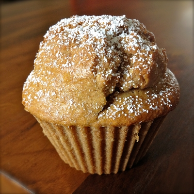 Haferflocken-Honig-Muffins