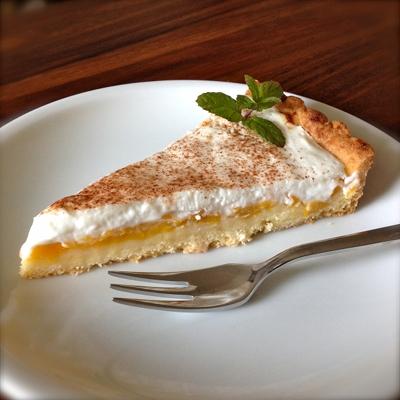 Pfirsich-Mango-Tarte