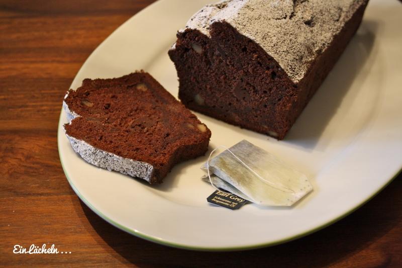 Sonntagskuchen Schokoladen Bananen Teekuchen Ein Lacheln Ins