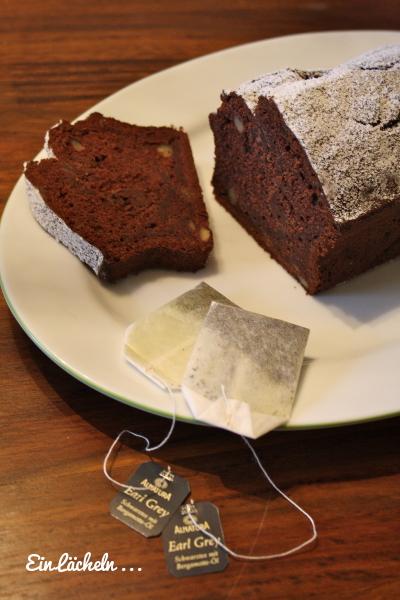 Schokoladen-Bananen-Teekuchen
