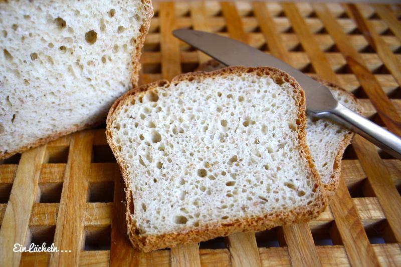 Toastbrot mit Getreideflocken